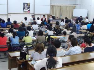 第一部はコース全員で講義を拝聴しました
