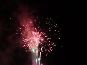 最後は豪華な花火でまた来年!