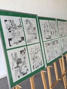 「助手展2015」ではコロ輔先輩の原画が!