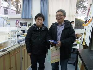 高木先生、8年間ありがとうございました!