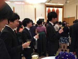 卒業パーティー