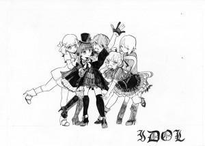 アイドル5人