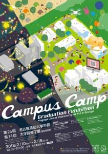 大学でキャンプ!のイメージだよ。