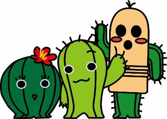 image - Kasugai-city cactus character